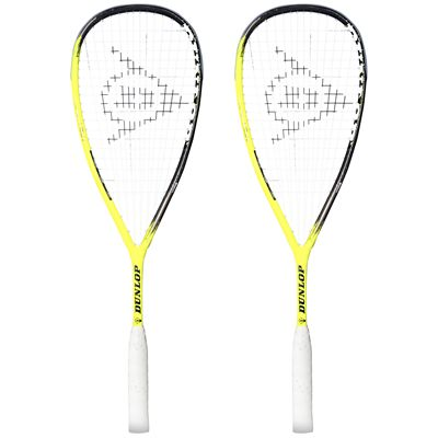 Dunlop Apex Infinity Squash Racket Double Pack