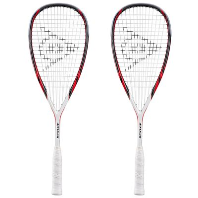 Dunlop Apex Lite Squash Racket Double Pack