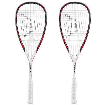 Dunlop Apex Lite Squash Racket Double Pack
