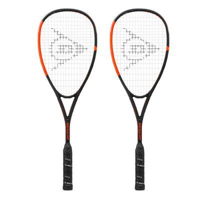 Dunlop Apex Supreme 4.0 Squash Racket Double Pack