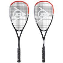 Dunlop Apex Supreme 5.0 Squash Racket Double Pack