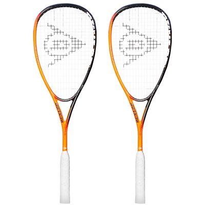 Dunlop Apex Synergy Squash Racket Double Pack