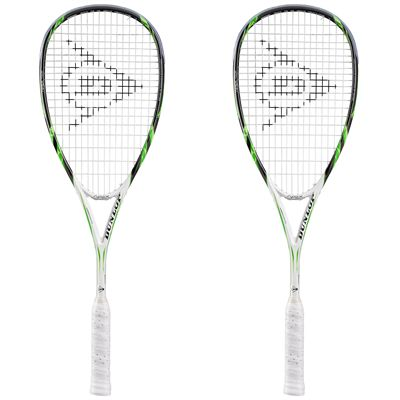 Dunlop Apex Tour Squash Racket Double Pack