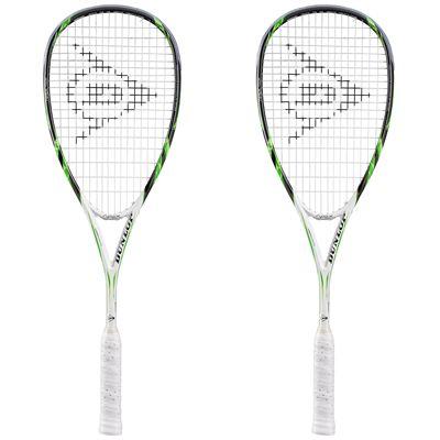 Dunlop Apex Tour Squash Racket Double Pack