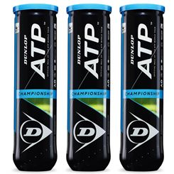 Dunlop ATP Championship Tennis Balls - 1 dozen