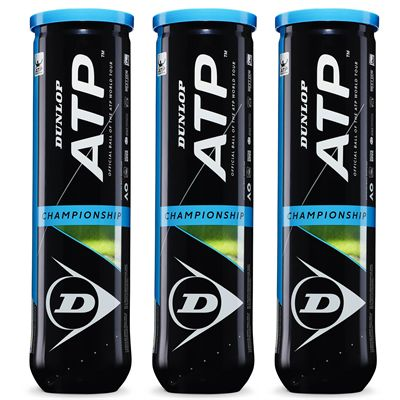 Dunlop ATP Championship Tennis Balls - 1 dozen - New