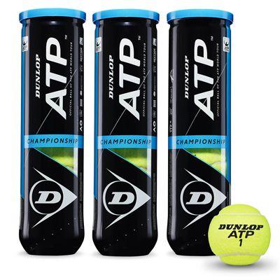 Dunlop ATP Championship Tennis Balls - 1 dozenDunlop ATP Championship Tennis Balls - 1 dozen