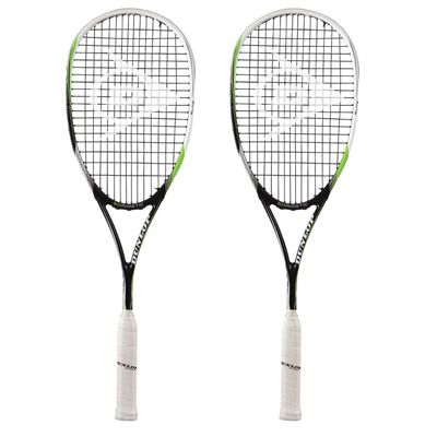 Dunlop Biomimetic Elite Squash Racket Double Pack