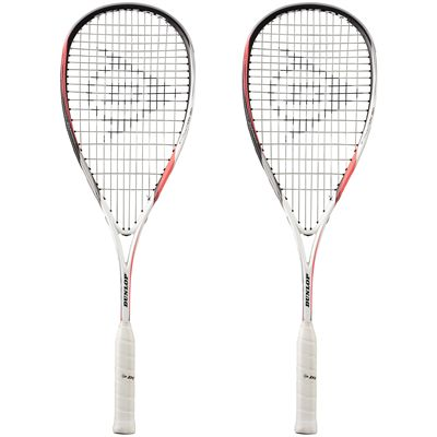 Dunlop Biomimetic Evolution 120 Squash Racket Double Pack