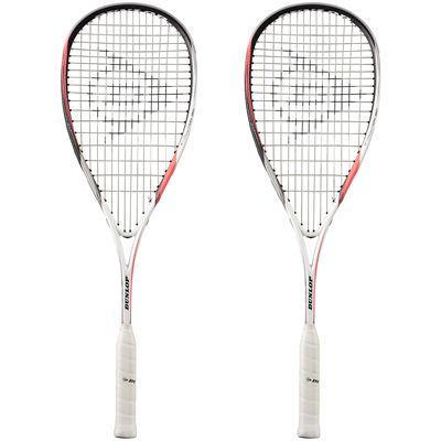 Dunlop Biomimetic Evolution 120 Squash Racket Double Pack