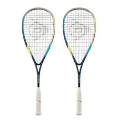Dunlop Biomimetic Evolution 130 Squash Racket Double Pack