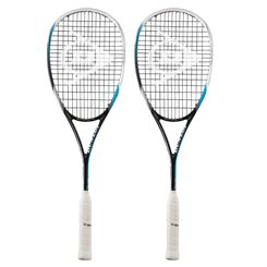 Dunlop Biomimetic Pro GTS 130 Squash Racket Double Pack