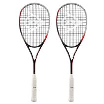 Dunlop Biomimetic Pro GTS 140 Squash Racket Double Pack