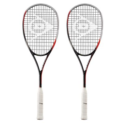 Dunlop Biomimetic Pro GTS 140 Squash Racket Double Pack