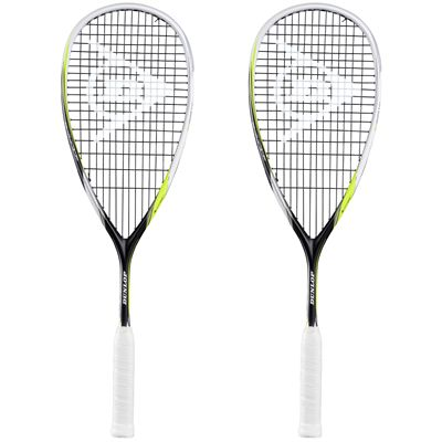 Dunlop Biomimetic Revelation 125 Squash Racket Double Pack