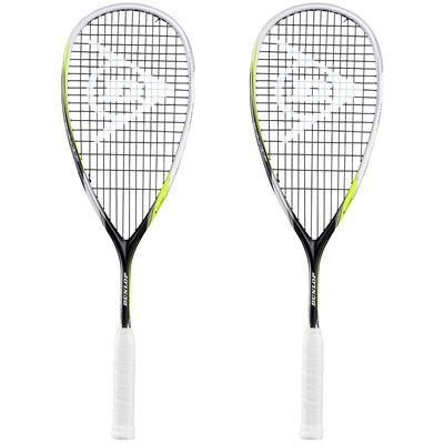 Dunlop Biomimetic Revelation 125 Squash Racket Double Pack