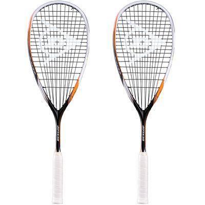 Dunlop Biomimetic Revelation 135 Squash Racket Double Pack