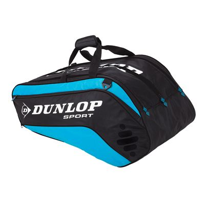 Dunlop Biomimetic Tour 10 Racket Thermo Bag Black Blue