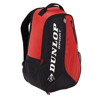 Dunlop Biomimetic Tour Backpack Black Red