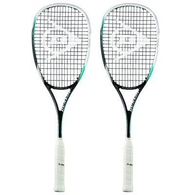Dunlop Biomimetic Tour CX Squash Racket Double Pack