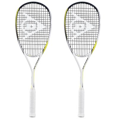 Dunlop Biomimetic Ultimate GTS Squash Racket Double Pack