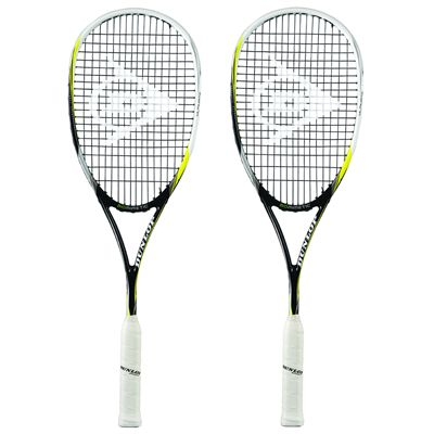 Dunlop Biomimetic Ultimate Squash Racket Double Pack