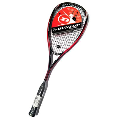 Dunlop Blackstorm Supreme Squash Racket Double Pack - Sticker