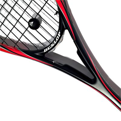 Dunlop Blackstorm Supreme Squash Racket Double Pack - Zoomed