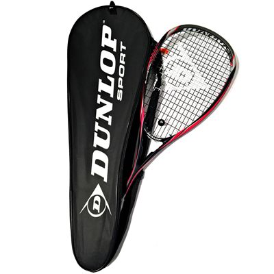 Dunlop Blackstorm Supreme Squash Racket - Racket in Cover