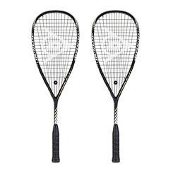 Dunlop Blackstorm Titanium 2.0 Squash Racket Double Pack