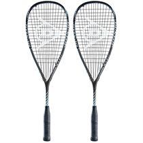 Dunlop Blackstorm Titanium 3.0 Squash Racket Double Pack