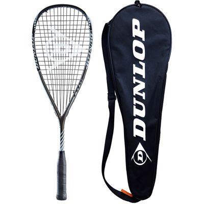 Dunlop Blackstorm Titanium 3.0 Squash Racket w cover