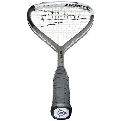 Dunlop Blackstorm Titanium 5.0 Squash Racket Double Pack - Bottom