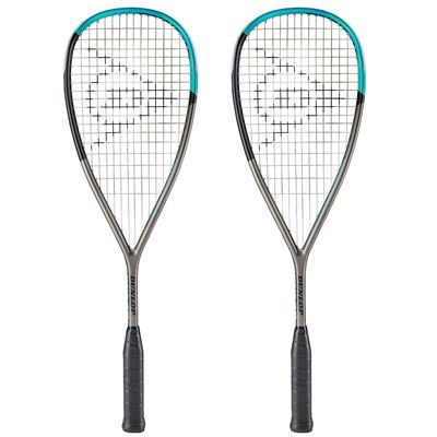 Dunlop Blackstorm Titanium SLS Squash Racket Double Pack