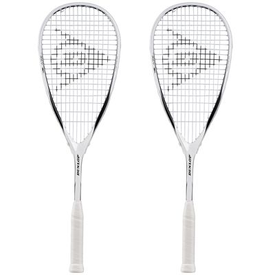 Dunlop Blaze 10 Squash Racket Double Pack