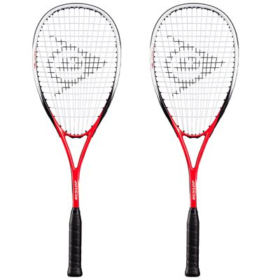 Dunlop Blaze 50 Squash Racket Double Pack