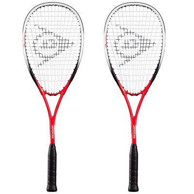 Dunlop Blaze 50 Squash Racket Double Pack