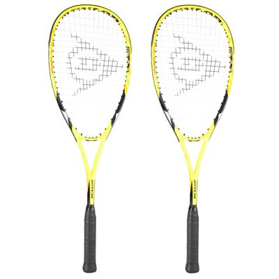 Dunlop Blaze Inferno 2.0 Squash Racket Double Pack