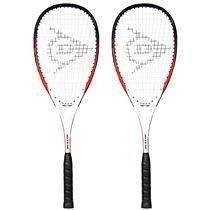 Dunlop Blaze Inferno Squash Racket Double Pack