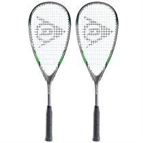 Dunlop Blaze Pro 3.0 Squash Racket Double Pack