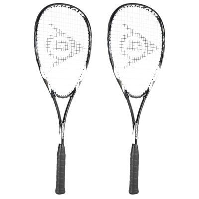 Dunlop Blaze Tour 2.0 Squash Racket Double Pack
