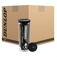 Dunlop Competition Squash Balls - 6 Dozen (24 x 3 Ball Tube)