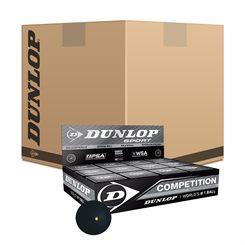 Dunlop Competition Squash Balls - 6 dozen