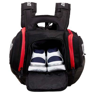 Dunlop CX Performance 9 Racket Bag - Back
