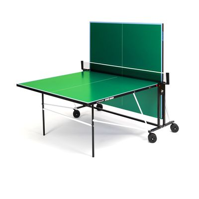 Dunlop EVO 1000 Outdoor Table Tennis Table - Green - Playback