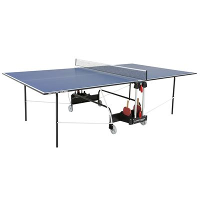 Dunlop EVO 2000 Indoor Table Tennis Table - Open