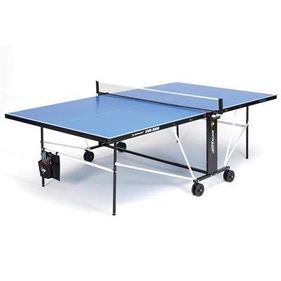 Dunlop EVO 3000 Outdoor Table Tennis Table - Open