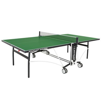 Dunlop EVO 5000 Outdoor Table Tennis Table - Open