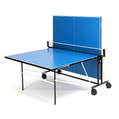 Dunlop EVO 500 Outdoor Table Tennis Table - Blue - Playback