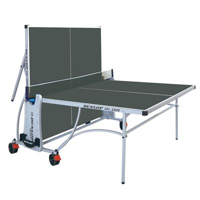 Dunlop Evo 5500 Outdoor Table Tennis Table-Playback